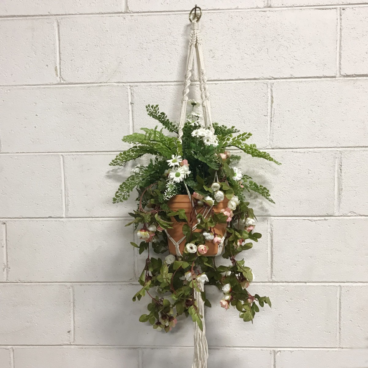 Cottage Hanging Basket Artificial Trees And Flowers Wholesale Melbourne Ribbons Vases