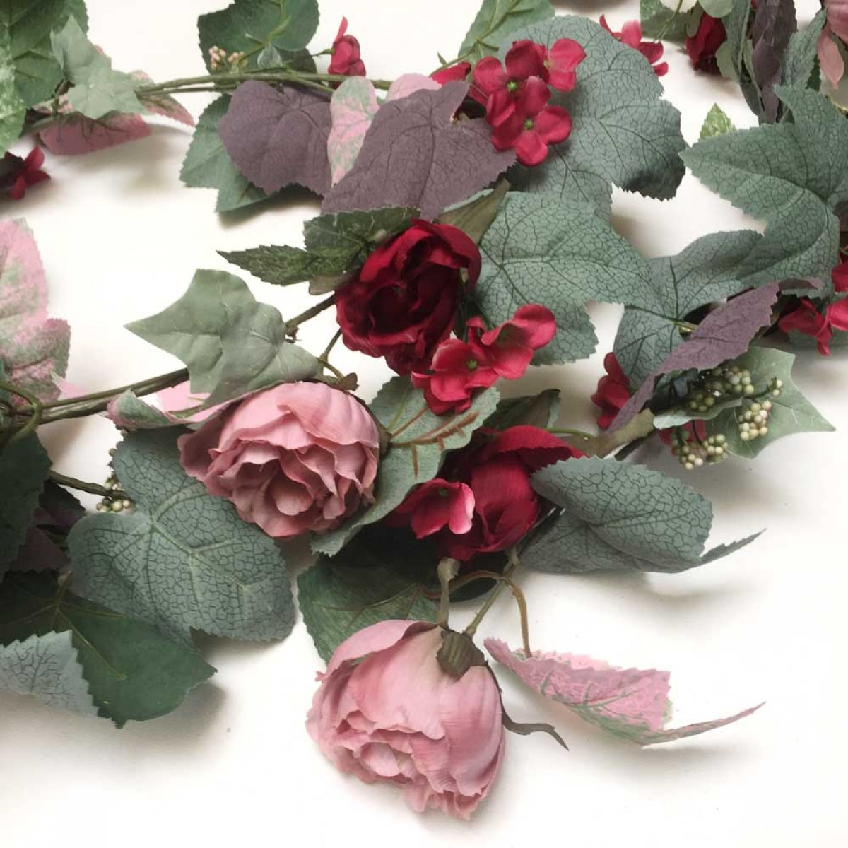 Rose Garland Artificial Trees And Flowers Wholesale