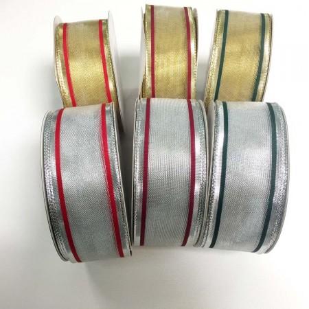 Metallic with Wire Edge