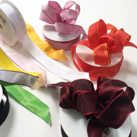 Grosgrain Ribbon Wired