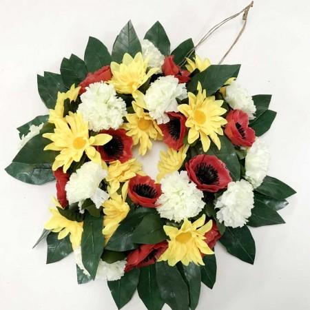 Carnation Poppy Gerbera