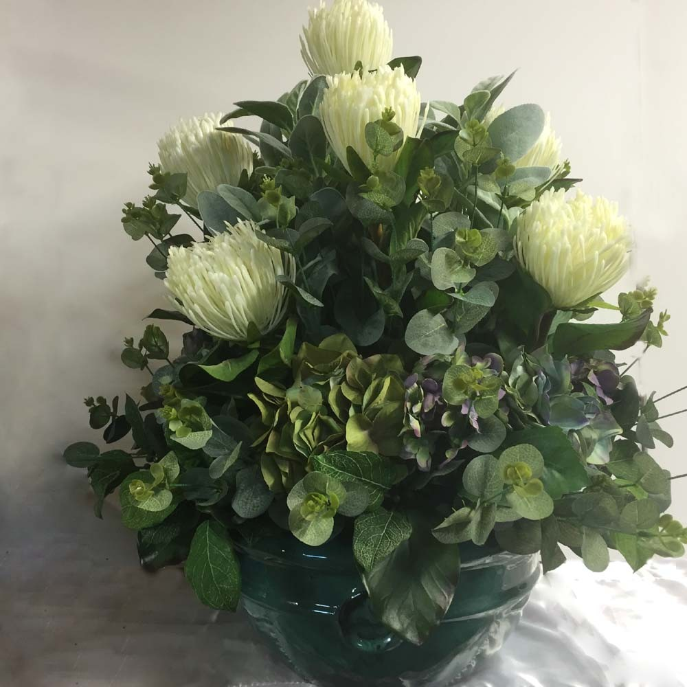 Protea Arrangement Artificial Trees And Flowers