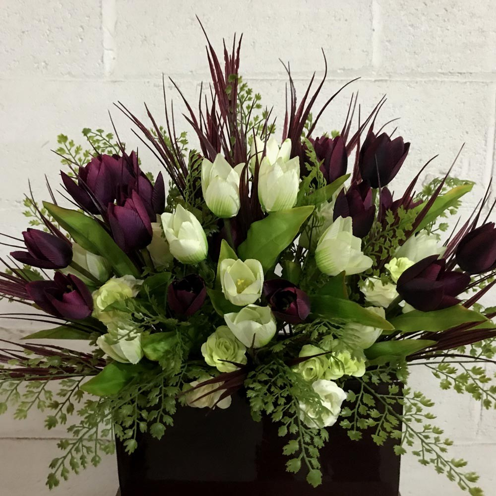 Tulip Arrangement Artificial Trees And Flowers Wholesale