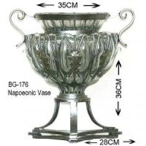 Glass Napoleonic jardenaire