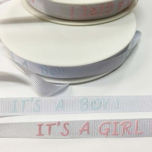 Grosgrain Printed Ribbon