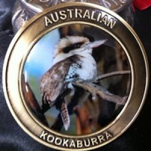 Kookaburra Souvenir Coin