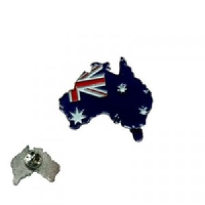 Australian Flag Badge